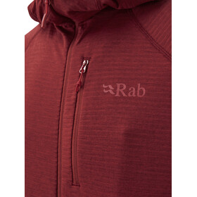 Rab Filament Hoody Men, oxblood red